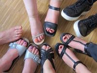 Wer hat die heißesten Füße?