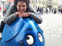 Eva-Maria Fahmüller in Erfurt beim KiKA