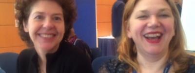 Eva-Maria Fahmüller und Tanja Steinlechner Autorenrunde Leipzig